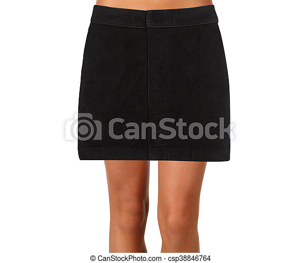 skirt isolated on a white background - csp38846764