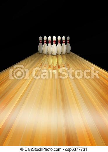 skittles, tenpin ボウリング - csp6377731