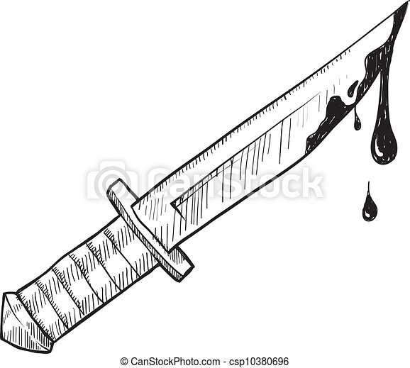 Messer clipart  EPS Vektoren von skizze, mord, oder, messer - Doodle, stil, messer ...