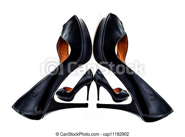 skor, kvinnor - csp11182902