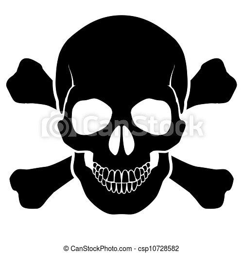 Skull and bones - csp10728582