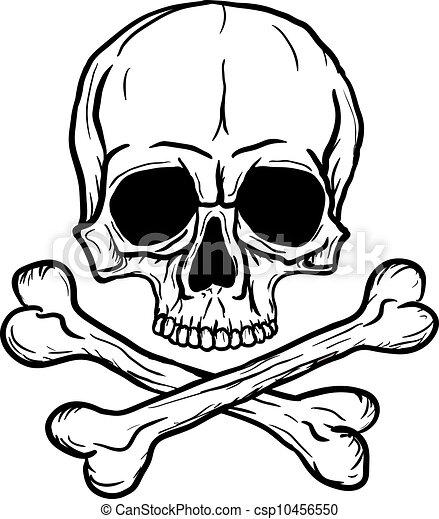 Skull and Crossbones - csp10456550