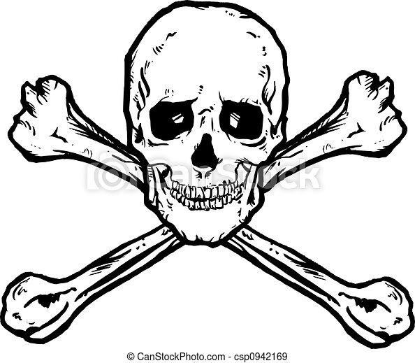 Skull And Crossbones - csp0942169