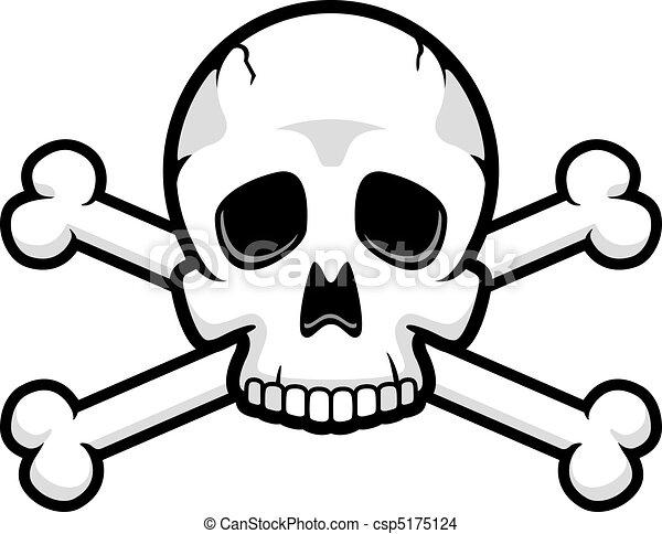 Skull and Crossbones - csp5175124