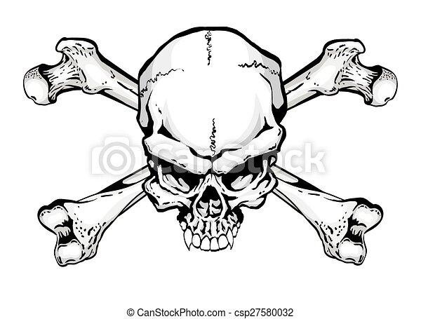 Skull and Crossbones - csp27580032