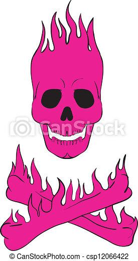 skull and crossbones - csp12066422