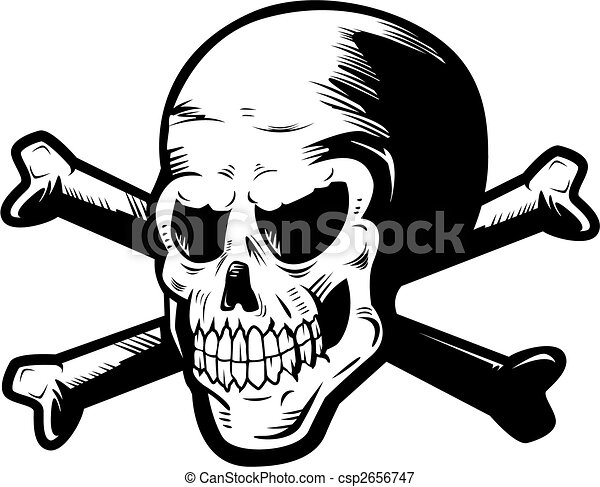 Skull and Crossbones - csp2656747