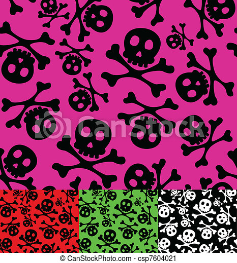 skull and crossbones - csp7604021
