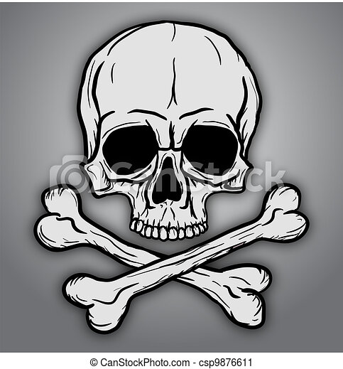 Skull and Crossbones - csp9876611