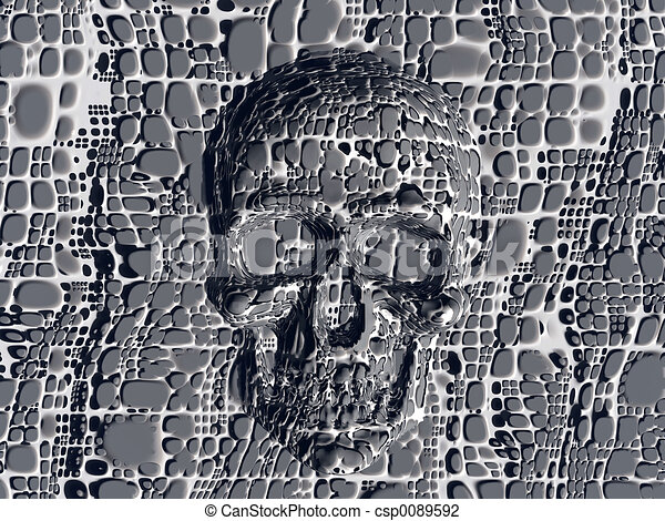Cráneo bloqueado. - csp0089592