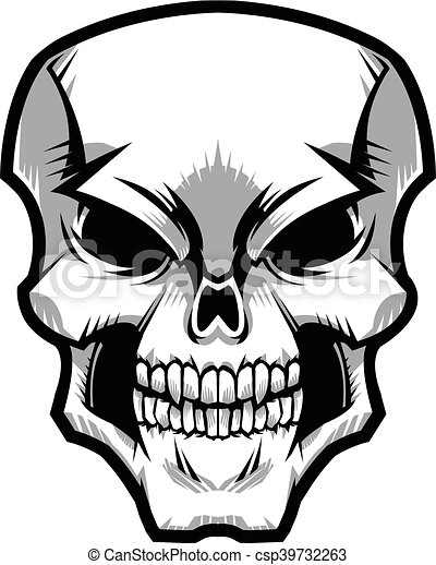 skull clip art vector search drawings and graphics images rh canstockphoto ca free skull vector art free skull vector art