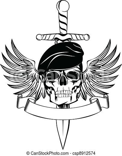 Skull - csp8912574
