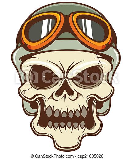 Skull - csp21605026