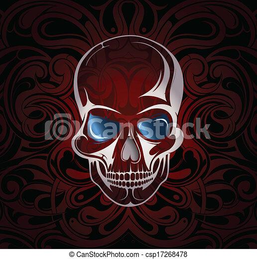 Skull - csp17268478