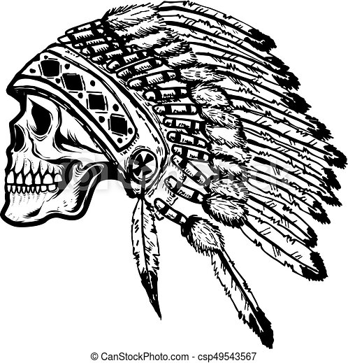 More s, white, black, and red native American headdress transparent  background PNG clipart | HiClipart