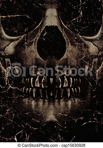 skull poster background dark photo collage poster template ideal
