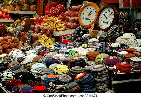 Skullcaps in the market - csp3314671