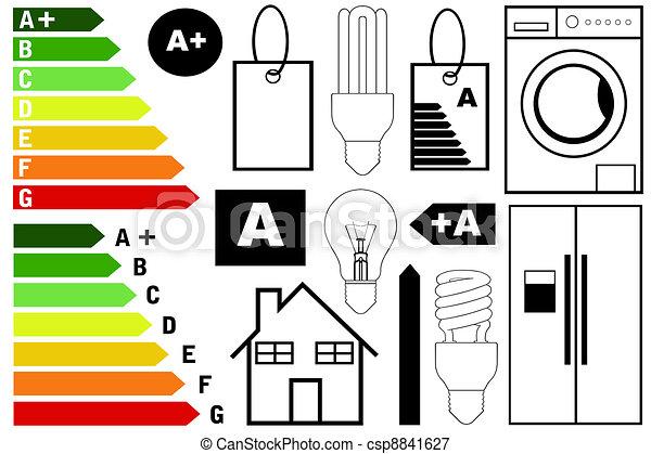 skuteczność, energia, elementy - csp8841627