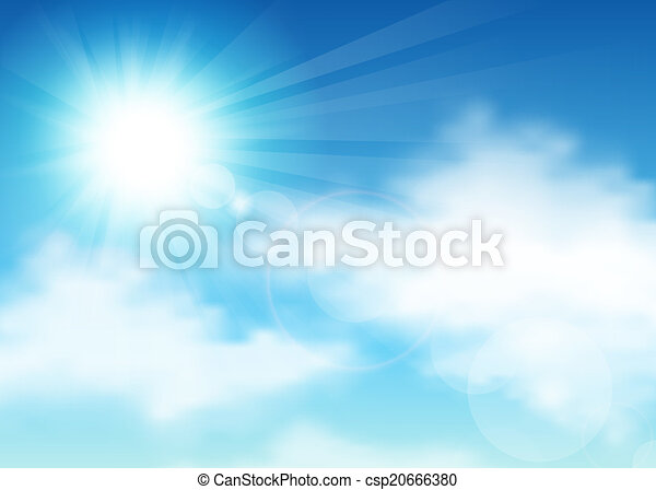 Sky and clouds - csp20666380