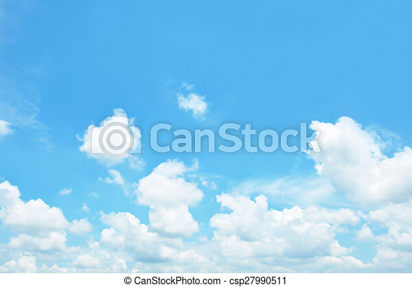 Sky and clouds - csp27990511