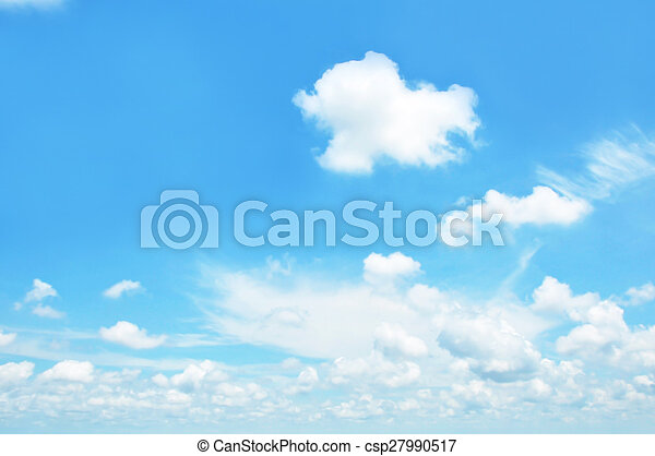 Sky and clouds - csp27990517