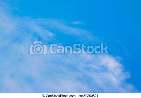 Sky and clouds - csp69360871