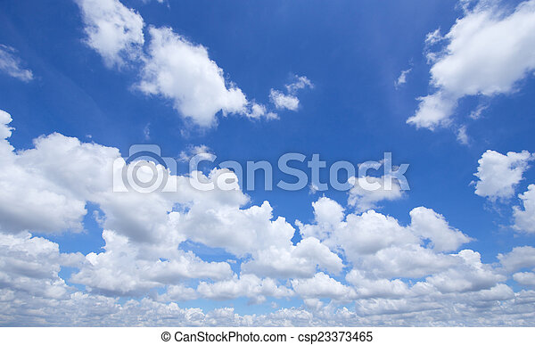 Sky and clouds - csp23373465