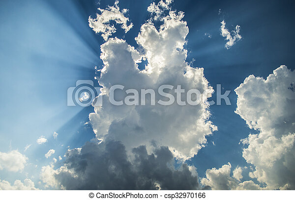 Sky and clouds - csp32970166