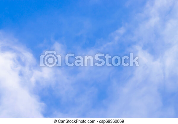 Sky and clouds - csp69360869