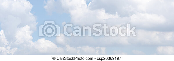 Sky and clouds - csp26369197