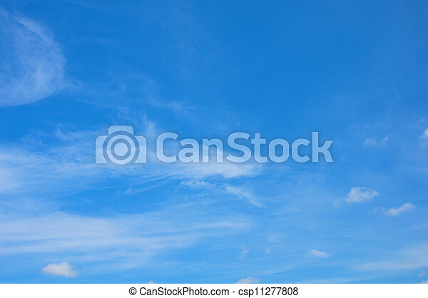 Sky and clouds - csp11277808