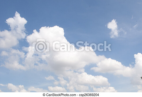 Sky and clouds - csp26369204