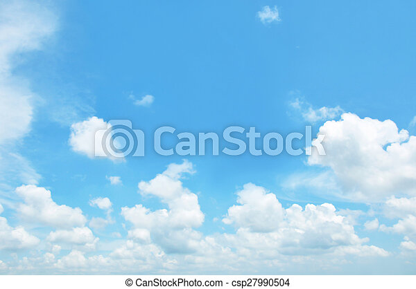 Sky and clouds - csp27990504