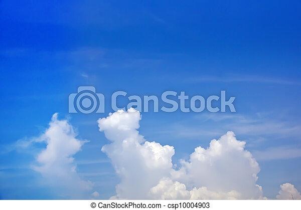 Sky cloud background image - csp10004903