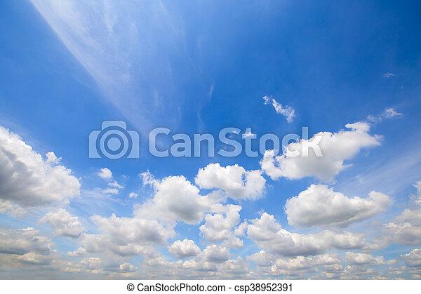 sky clouds - csp38952391