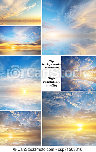 Sky collection background - csp71503318