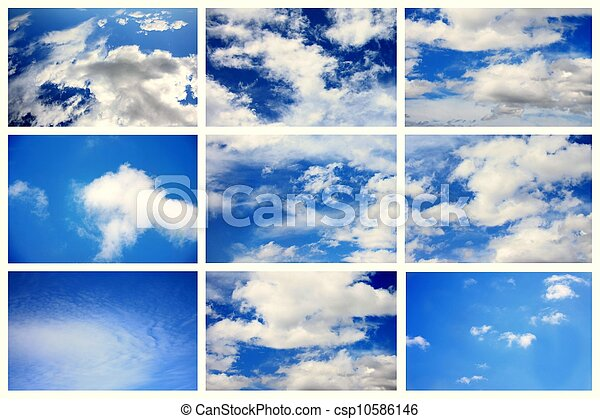 Sky daylight collection. - csp10586146