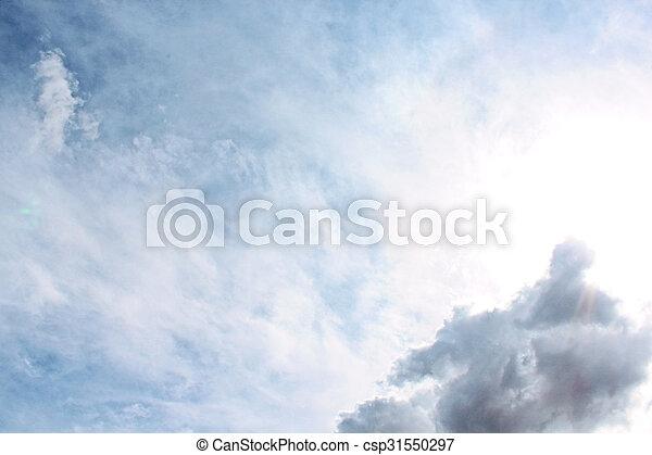 sky, paradis - csp31550297
