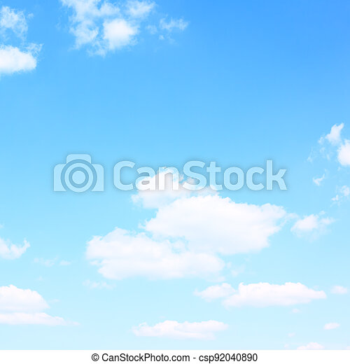 Sky with clouds - Background - csp92040890