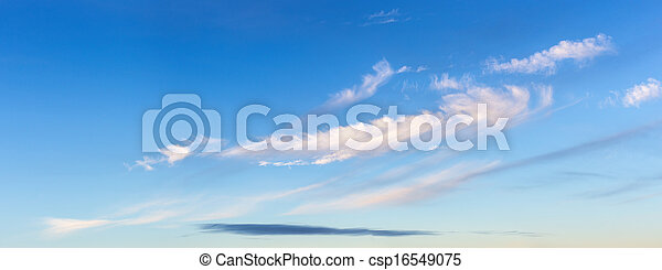 sky with clouds - csp16549075