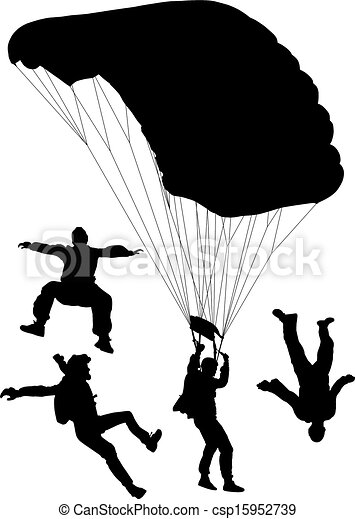 Skydiving - csp15952739