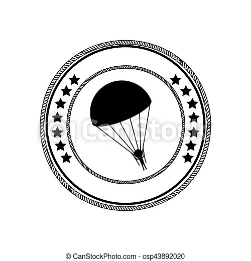 Skydiving extreme sport - csp43892020