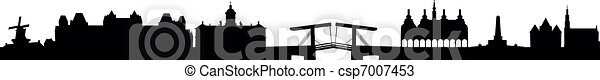 SKyline Amsterdam - csp7007453