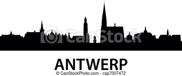 Skyline Antwerp - csp7007472