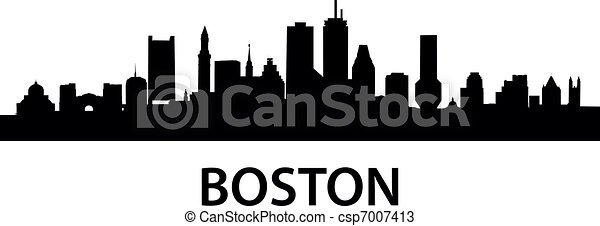 Skyline Boston - csp7007413
