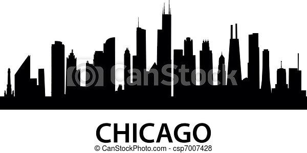 Skyline Chicago - csp7007428