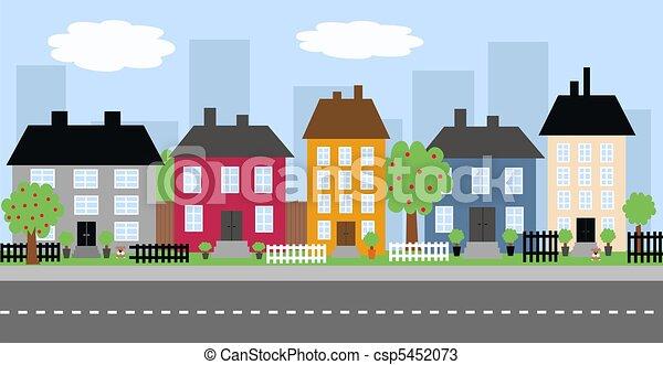 skyline città - csp5452073