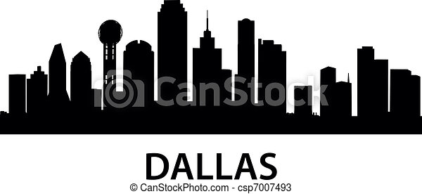 Skyline Dallas - csp7007493