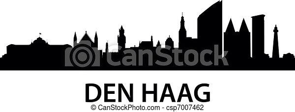 Skyline Den Haag - csp7007462