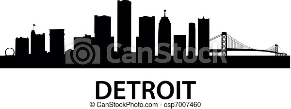 Skyline-detroit - csp7007460